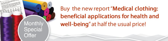 Buy  the new report 'Medical clothing: beneficial applications for health and well-being' at half the usual price!
